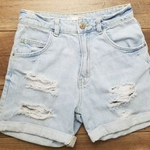 Zara Vintage Collection Highwaisted Jean Shorts